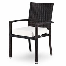 Zen Dining Arm Chair with Cushion