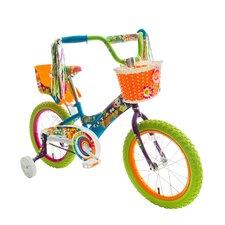 "Girls 16"" Titan Flower Power Princess BMX Bike"