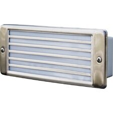 Recessed Louvered 2 Light Sconce