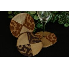 Illusions Wine Glass Coaster (Set of 2)