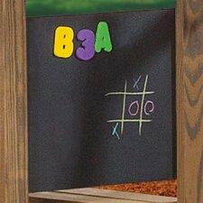 Magnetic Wall Mounted Chalkboard, 2' x 2'