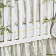 Zen Garden Cotton Crib Sheet