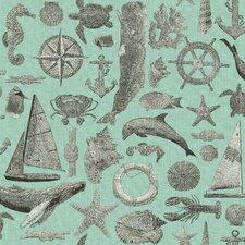 "Nautical Living Maritime 33' x 20.5"" Wallpaper"