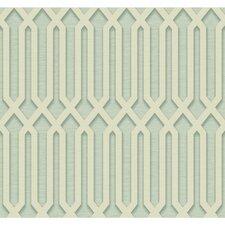 "27' x 27"" Oriana Trellis Wallpaper"