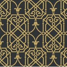 """27' x 27"""" Geometric Lattice Wallpaper"""