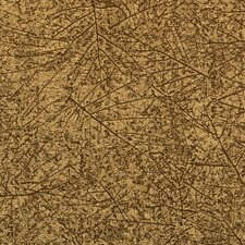 Bling 33' x 21'' Leaf Study Abstract Foiled Wallpaper