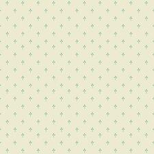 "Kitchen and Bath 33' x 20.5"" Fleur de lis Ditsy Wallpaper"