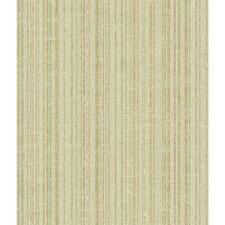 "Texture Portfolio 33' x 20.5"" Stripe Wallpaper"