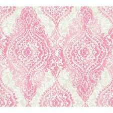 "Wallpapher 27' x 27"" Boho Chic Roll Wallpaper (Set of 2)"