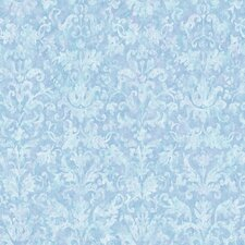 "York Kids IV 33' x 20.5"" Damask Wallpaper"