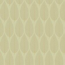 "Candice Olson II Pressed 27' x 27"" Leaf Floral Botanical Foiled Wallpaper"