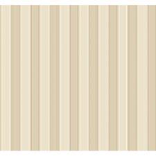 "Ashford Silk 27' x 27"" Stripe Distressed Wallpaper"
