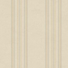 "Fresco Ediston 33' x 20.5"" Stripe Distressed Wallpaper"