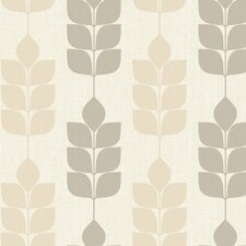 "Candice Olson Inspired Elegance 27' x 27"" Petals Botanical Wallpaper"