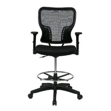 """Space 21.25"""" Chair with 4-Way Adjustable Flip Arms"""