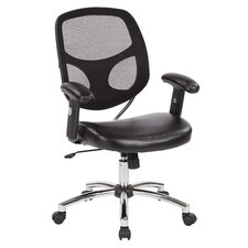 Mid-Back Office Chair with Adjustable Arm