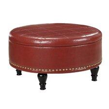 Augusta Eco Leather Storage Ottoman