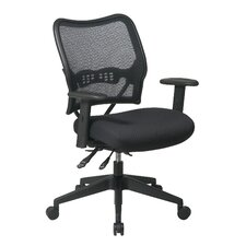 Space Conference's Chair with Air Grid Back and Mesh Seat