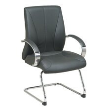 ProLine II Deluxe Leather Guest Chair