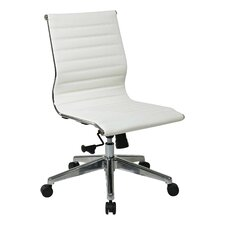 Mid-Back Eco Leather Office Chair