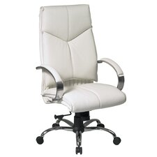 Deluxe High-Back Executive Leather Executive Chair
