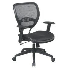 SPACE Mid-Back Task Chair with Adjustable Arms
