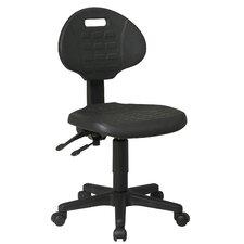 Low Black Ergonomic Office Chair