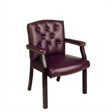 Traditional Guest Chair with Padded Arms