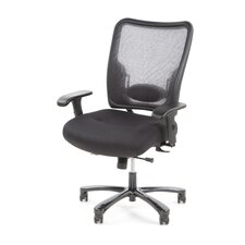 Space Mid-Back Mesh Big Office Chair