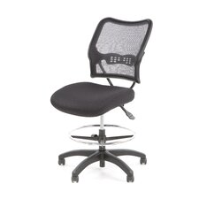 Height Adjustable Drafting Chair with Footring