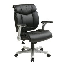 Mid-Back Eco Leather Executive Chair
