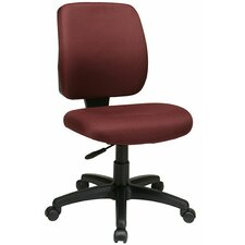 Work Smart Mid-Back Deluxe Task Chair