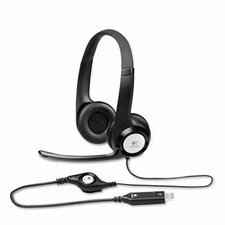 H390 Usb Headset with Noise-Canceling Headphones