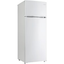 7.4 cu. ft. Compact Refrigerator with Freezer