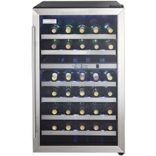 38 Bottle Dual Zone Freestanding Wine Refrigerator