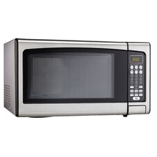 1.1 Cu. Ft. 1000W Countertop Microwave in Gray