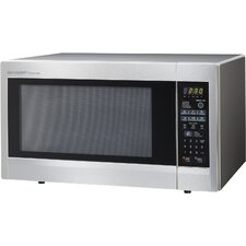2.2 Cu. Ft. 1200W Countertop Microwave in Stainless Steel