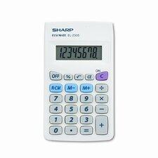 EL-233SB Handheld Calculator, Eight-Digit LCD