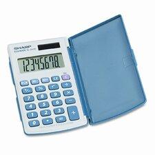 EL-243SB Basic Calculator, Eight-Digit LCD