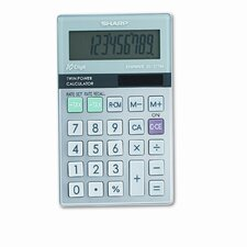 EL-377TB Business/Handheld Calculator, 10-Digit LCD