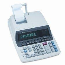 QS-2770H Desktop Calculator, 12-Digit Fluorescent, Two-Color Printing