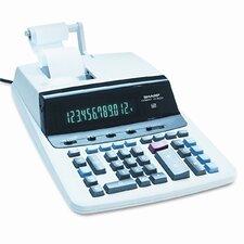 VX-2652H Desktop Calculator, 12-Digit Fluorescent, Two-Color Printing