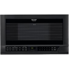 1.5 Cu. Ft. 1100W Over-The-Range Microwave in Black