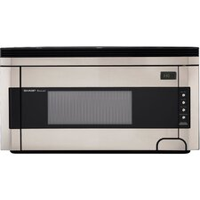 1.5 Cu. Ft. 1000W Countertop Microwave in Stainless Steel