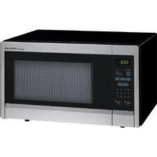 1.1 Cu. Ft. 1000W Countertop Microwave in Black