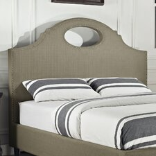 Key Hole Queen Upholstered Headboard