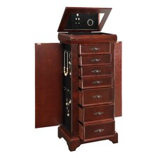 Jewelry Armoire with Mirror I