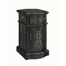 1 Door 1 Drawer Chairside Storage Cabinet