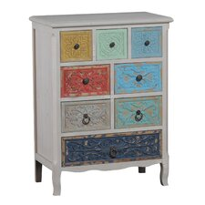 Molly 8 Drawer Storage Cabinet
