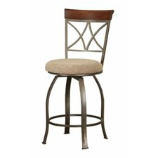 "Powell Cafe 29"" Swivel Bar Stool with Cushion"